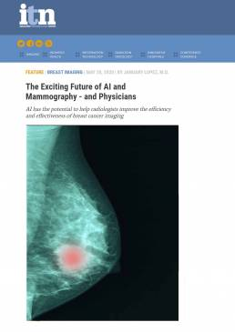 The Exciting Future of AI and Mammography - and Physicians _ Imaging Technology News